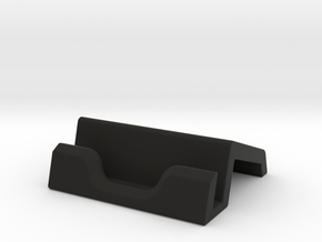 iPad Stand V1 in Black Natural Versatile Plastic