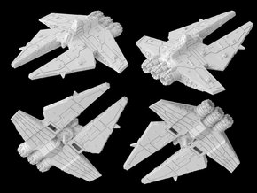 (Armada) Customs Corvette in White Natural Versatile Plastic