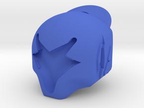 Hezen Warlock Helm in Blue Processed Versatile Plastic