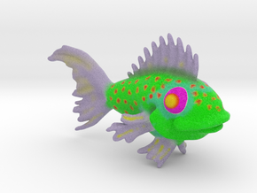 Fish in Full Color Sandstone