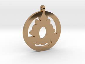 Pendant in Polished Brass
