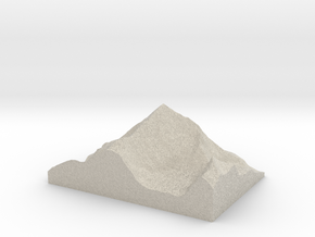 Model of Dent Blanche in Sandstone