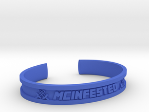 McBracelet (2.2 Inches) in Blue Processed Versatile Plastic