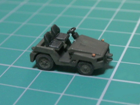 1/144 JASDF 2t Tow Tractor in Smooth Fine Detail Plastic