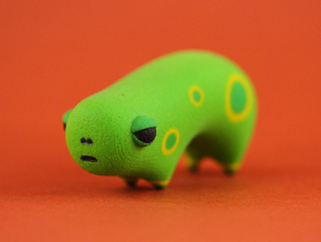 Green Spotted Animal Two in Full Color Sandstone