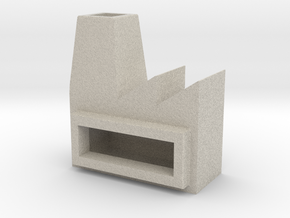 Factory ashtray in Natural Sandstone