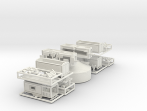 Puppentheaterset - 1:220 OR 1:160 (Z- OR N-scale) in White Natural Versatile Plastic: 1:220 - Z