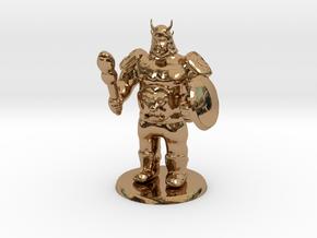 Ogre Boss in Polished Brass