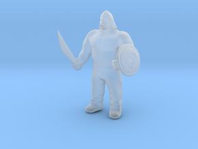Ogre Warrior in Smooth Fine Detail Plastic