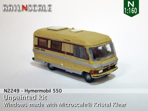 Hymermobil 550 (N 1:160) in Smooth Fine Detail Plastic