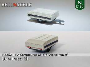 IFA Camptourist 'Alpenkreuzer' (N 1:160) in Smooth Fine Detail Plastic