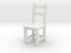 1:24 Ivar Chair (not full size) in White Natural Versatile Plastic