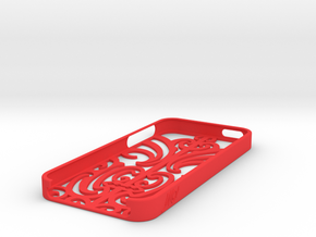 iMoko iPhone 5 cover in Red Processed Versatile Plastic