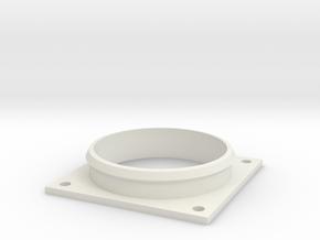 Habitrail OVO Compatible Adapter Plate in White Natural Versatile Plastic