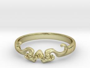 Skull of ring(reboot)(size = USA 5.5)  in 18k Gold