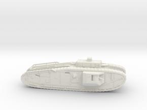 "28MM Mark VIII ""Liberty"" Heavy Tank in White Natural Versatile Plastic"