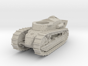 28mm M1917 Six Ton Tank (Hull) in Natural Sandstone