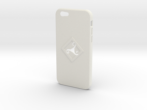 Iphone6 Case Triskel in White Natural Versatile Plastic