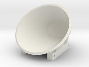 Baggeremmer 500L J10 in White Natural Versatile Plastic