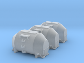 Efkr Dry Bulk Container - Nscale in Smooth Fine Detail Plastic