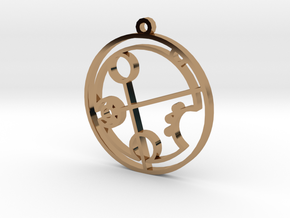 Brandi - Necklace in Polished Brass