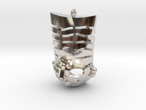 Pasha pendant in Platinum