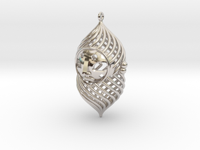 The duke pendant in Platinum