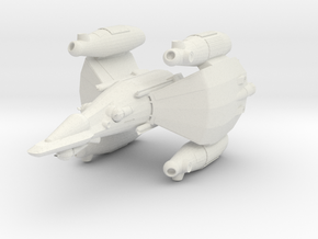 Gunstar Fixed in White Natural Versatile Plastic