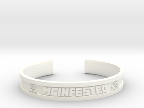 McBracelet (2.6 Inches) in White Processed Versatile Plastic