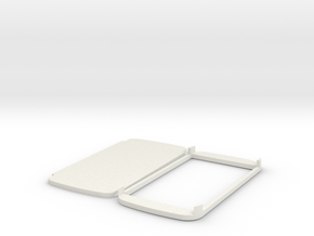 PAPERPROTO-Galaxy S6  in White Natural Versatile Plastic
