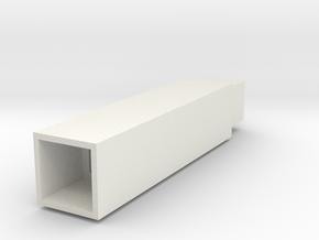 Support Rod (Square) - 3Dponics Drip Hydroponics  in White Natural Versatile Plastic