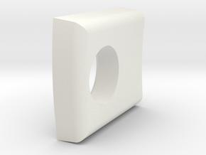 Inner Clip - 3Dponics Drip Hydroponics in White Natural Versatile Plastic