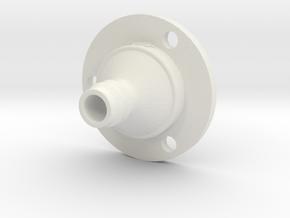 Drip Nozzle (3/4 Inch, 3 Holes) - 3Dponics  in White Natural Versatile Plastic