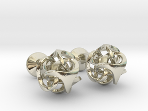 Ora by Bathsheba Cufflinks in 14k White Gold