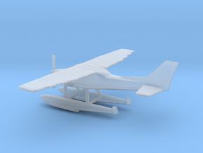 Cessna 172 Floatplane (small scale) in Smooth Fine Detail Plastic: 1:400