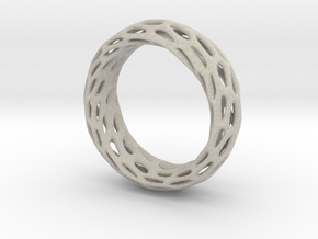 Trous Ring Size 7.5 in Natural Sandstone