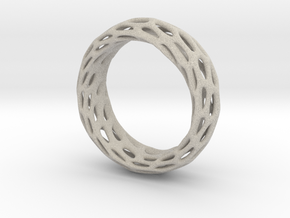 Trous Ring Size 8 in Natural Sandstone