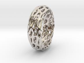Trous Ring in Platinum