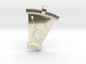 Cancer Constellation Pendant in 14k White Gold