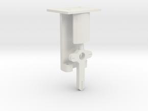 Signal Mech - 1 Arm in White Natural Versatile Plastic