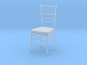 Chiavari Chair 1:24 in Smooth Fine Detail Plastic