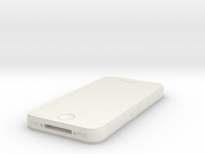 iPhone 4s scale model in White Natural Versatile Plastic