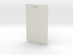 Lid for xBee Enclosure Case in White Natural Versatile Plastic