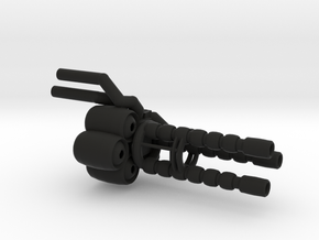 """Wrecker's"" Heavy Artillery Minigun - small in Black Strong & Flexible"
