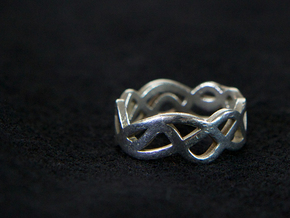 Ring in Polished Silver