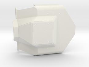 HR-OS1 Orion Front Torso Armor in White Natural Versatile Plastic