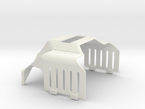 HR-OS1 Orion Rear Torso Armor in White Natural Versatile Plastic
