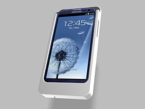 Samsung S3 Charger 2500mah with USB Power Out in White Strong & Flexible