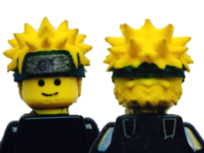 Custom Naruto Inspired Lego in White Strong & Flexible
