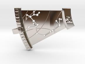Sagittarius Constellation Pendant in Platinum